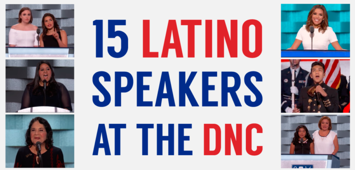 15 Latino Speakers At The DNC